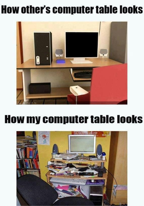 computer table X