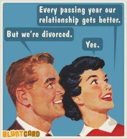 divorced relationship better X