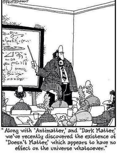 doesnt matter universe