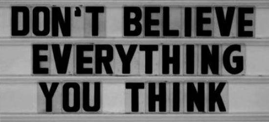 don't beleive everything X