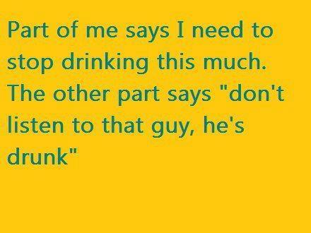 don't listen drunk X