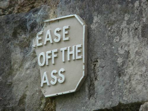 ease off ass X