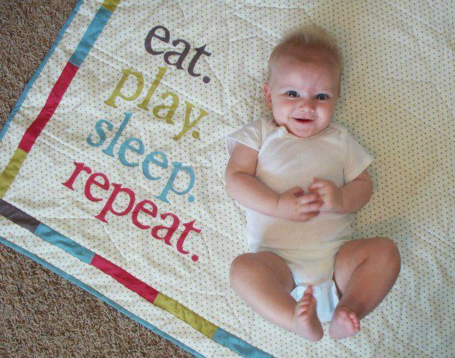 eat play sleep repeat X