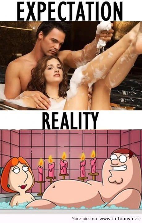 expectation reality X