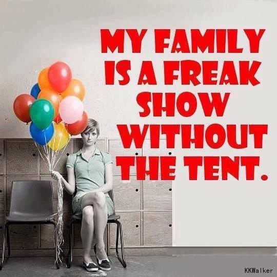 family freak show X