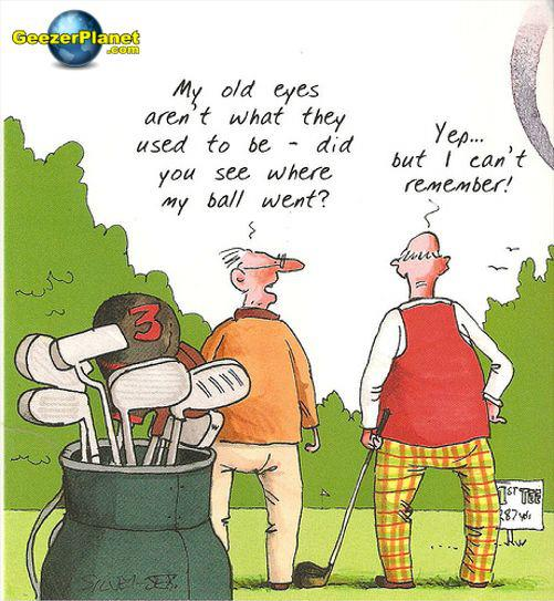 golf cant remember X