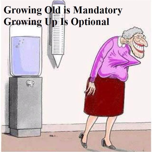 grow up optional X