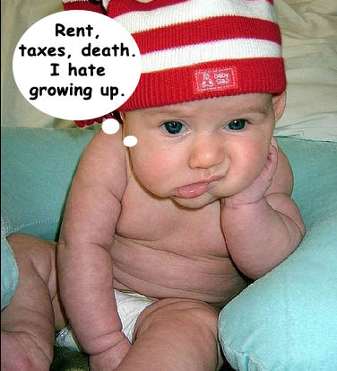 growing up rent taxes death X