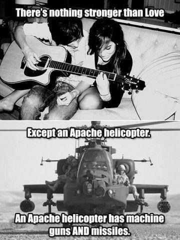 helicopter stronger than love X