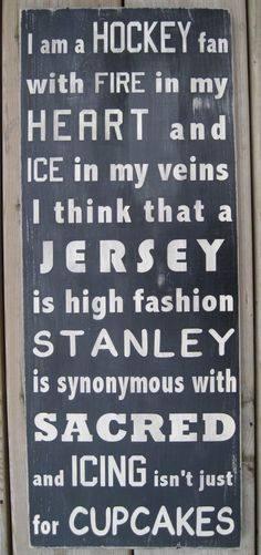 hockey fan X