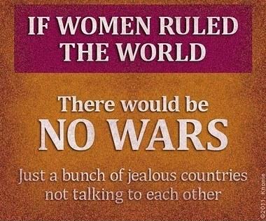 if women ruled world X