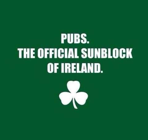 Irish sunblock X