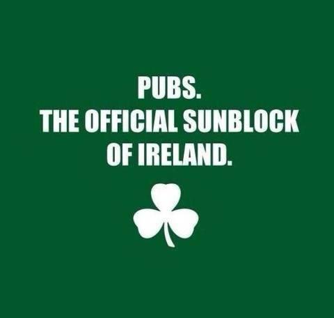 Irish sunblock X