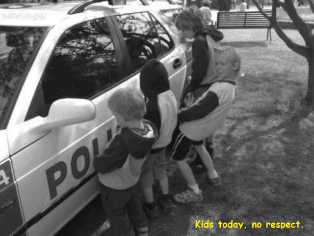 kids no respect X