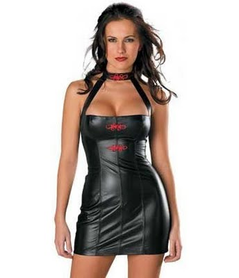 leather dress seniors joke