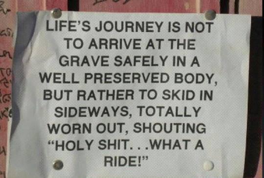 lifes journey X