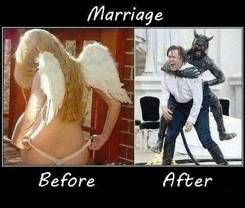 marriage before after X