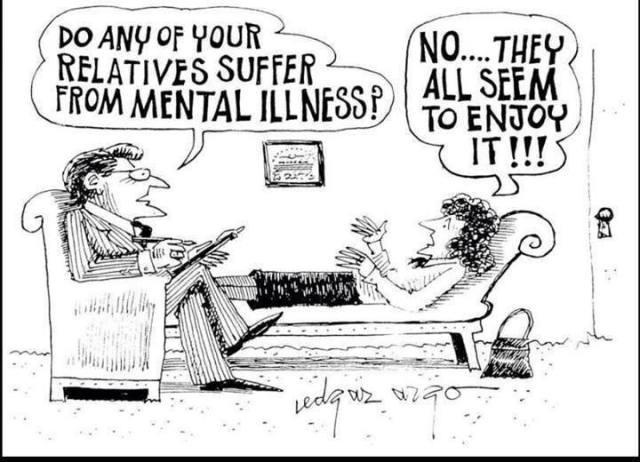mental illness enjoy X