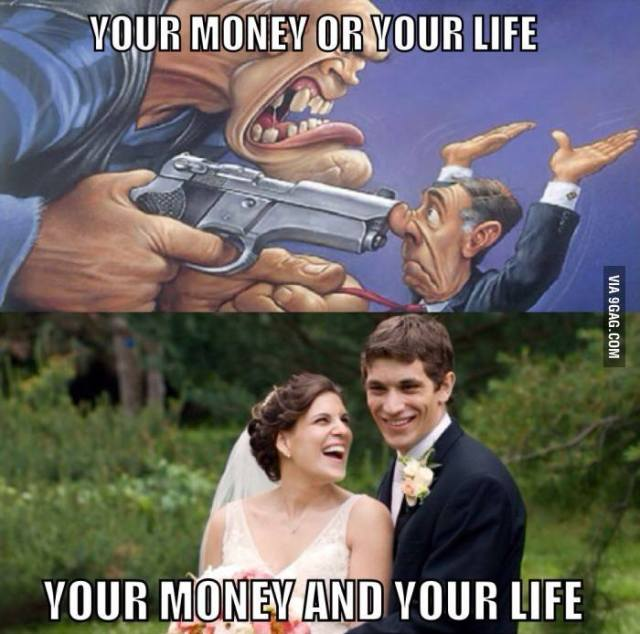 money or life