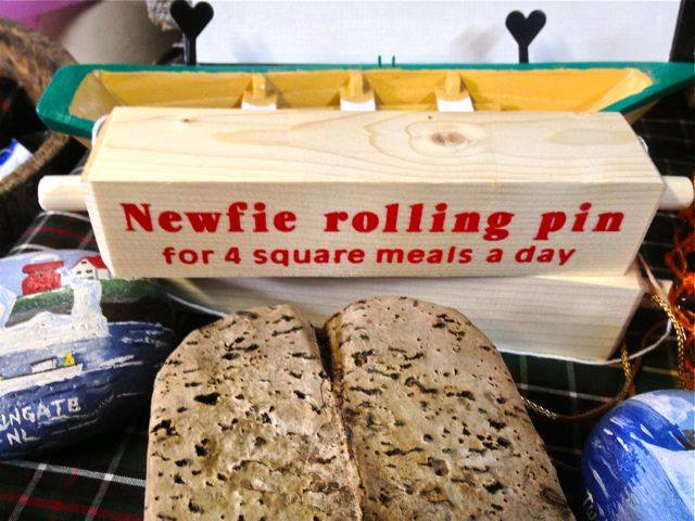 Newfie rolling pin X