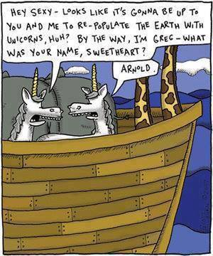 Noah ark unicorns X