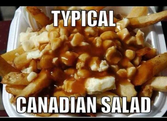 Poutine salad X