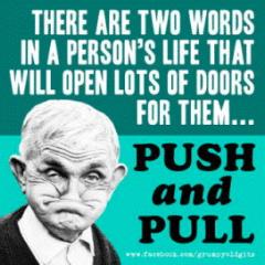 push pull X