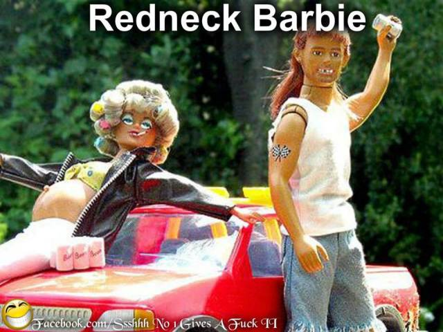 redneck Barbie X