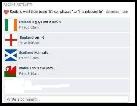 Scotland England X
