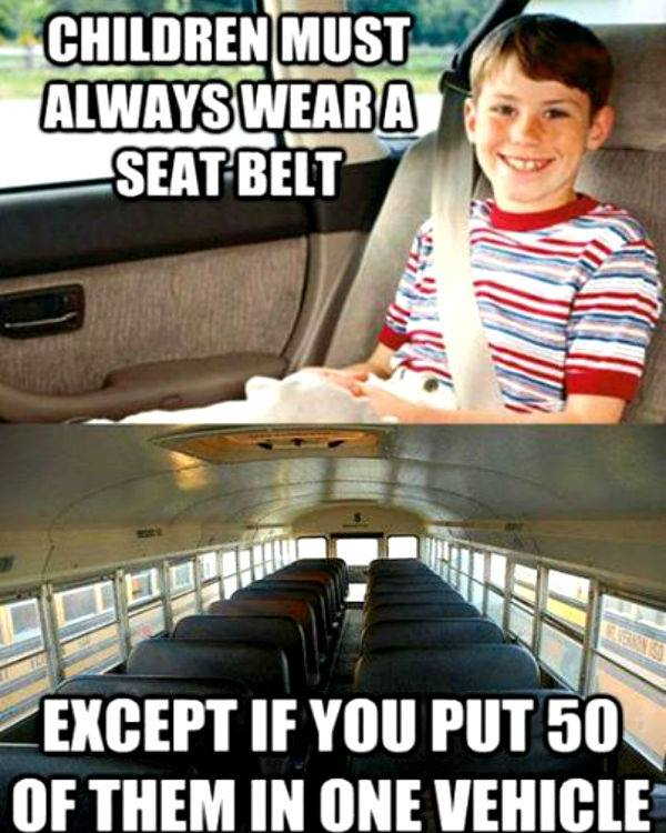 seatbelts kids X