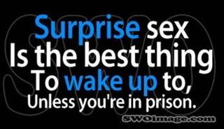 Sex surprize prison X