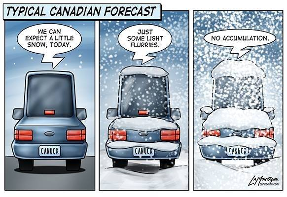 snow forecast X
