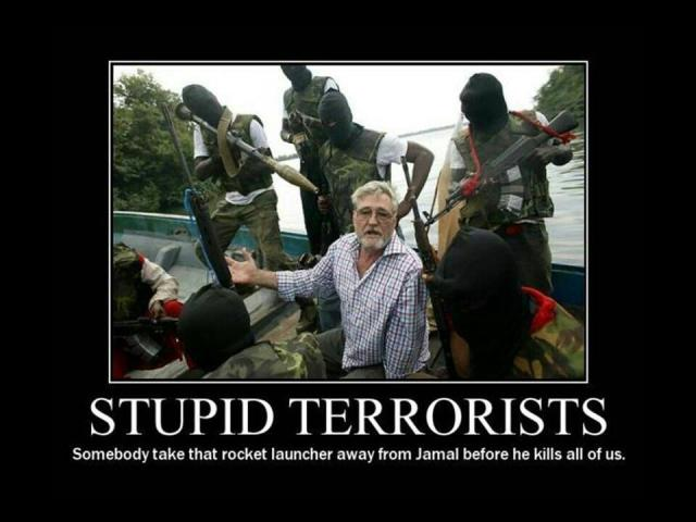 terrorist stupid X
