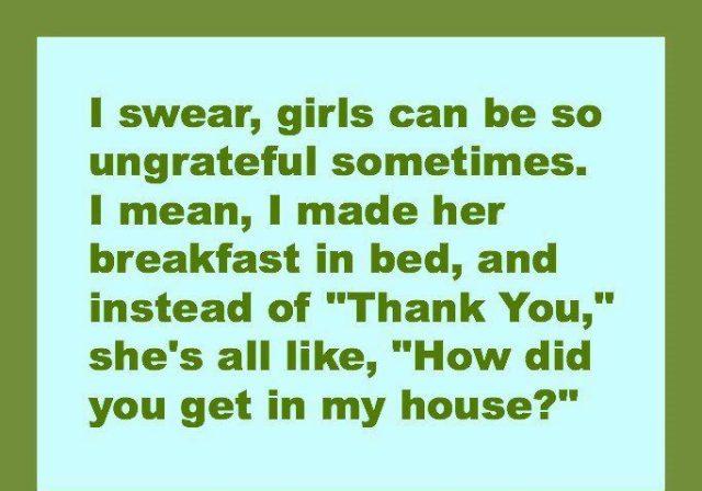 ungrateful breakfast bed X