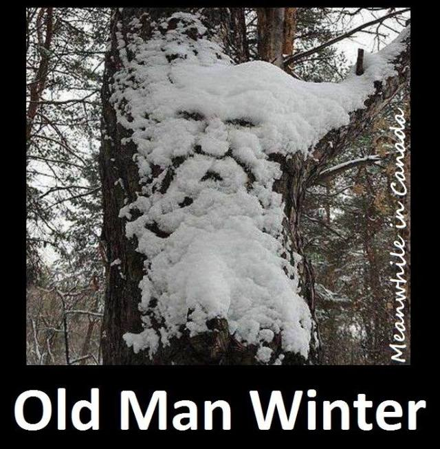 winter - old man X