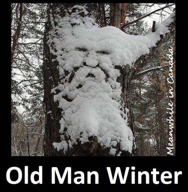 winter - old man X