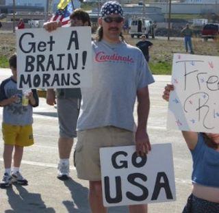 get a brain moran