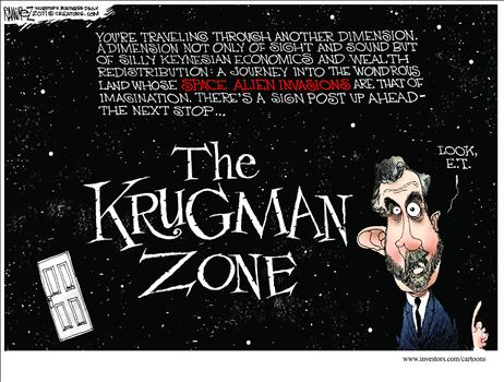 Krugman space aliens