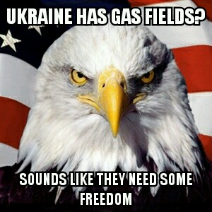Ukraine gas fields