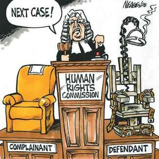 Canadian Human Rights Com. electric chair