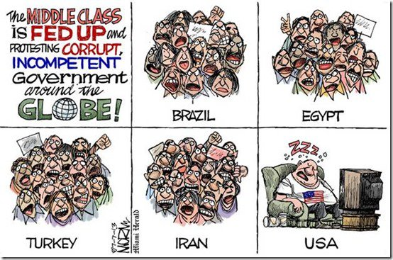 US complacent