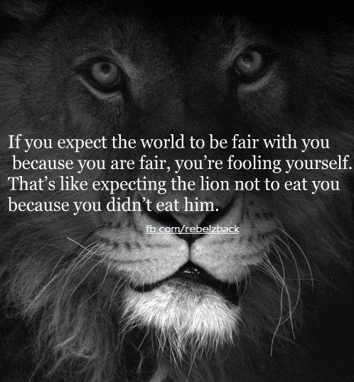life not fair