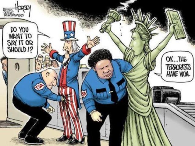 TSA terrorist won