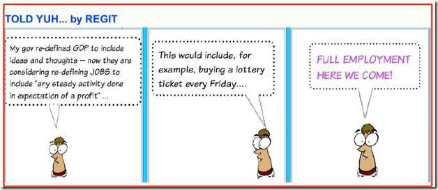 lottery cartoon