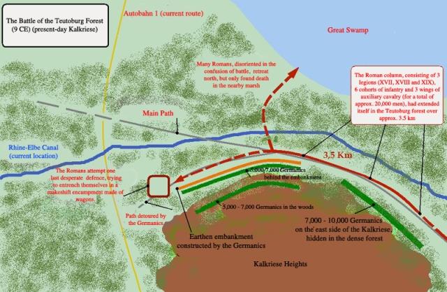 HF - Teutoburg Kalkreise map 39
