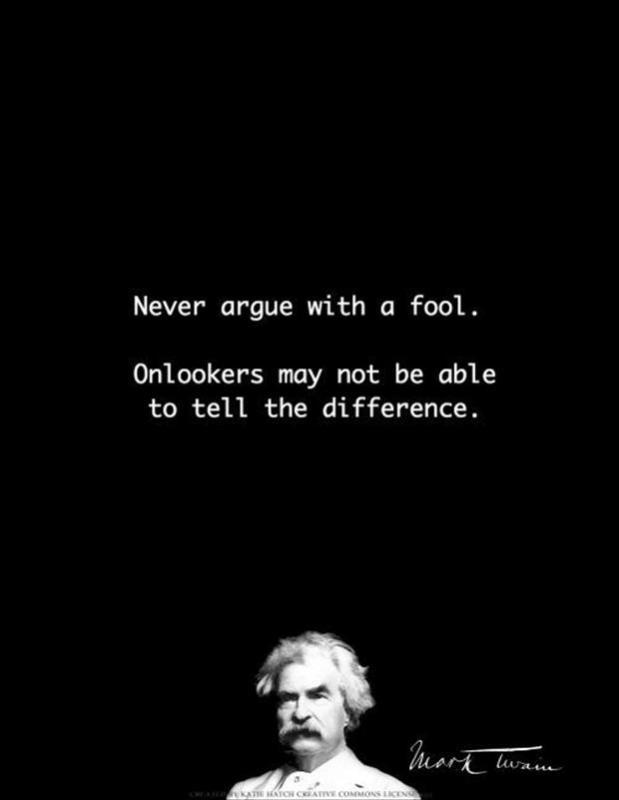 argue fool