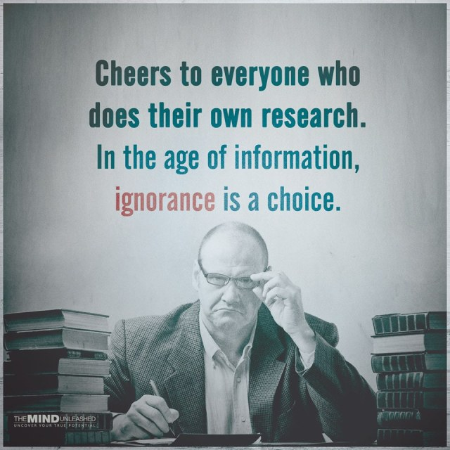 ignorance choice
