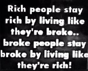 Rch people stay rich